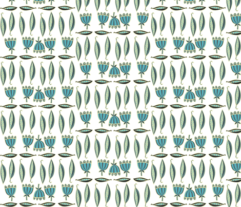 pea_pod fabric by antoniamanda on Spoonflower - custom fabric