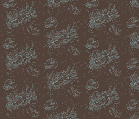Love Bird Toile fabric by dentednj on Spoonflower - custom fabric