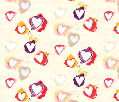 heart_cutout fabric by leonielovesyou on Spoonflower - custom fabric