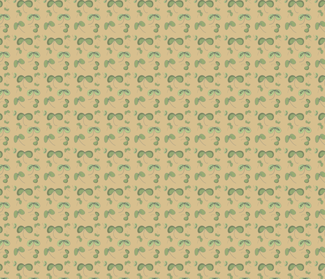 leaves_updated fabric by phatsheepfabrics on Spoonflower - custom fabric