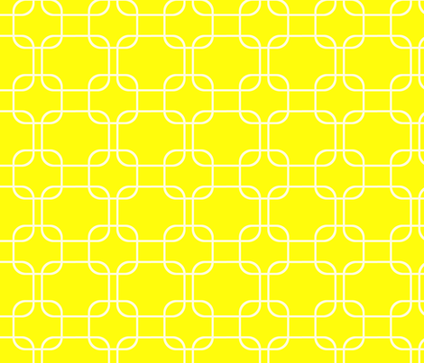 geometry lemon fabric by amybethunephotography on Spoonflower - custom fabric