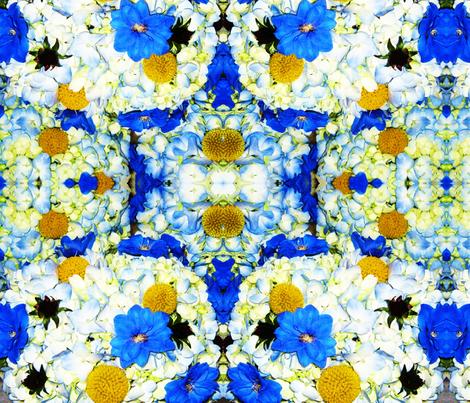 Wedding Bouquet fabric by frances_hollidayalford on Spoonflower - custom fabric