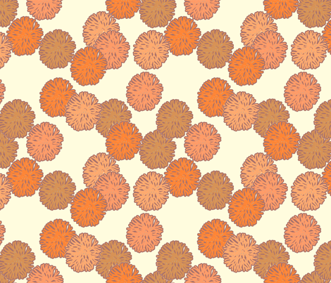 coral fabric by holli_zollinger on Spoonflower - custom fabric