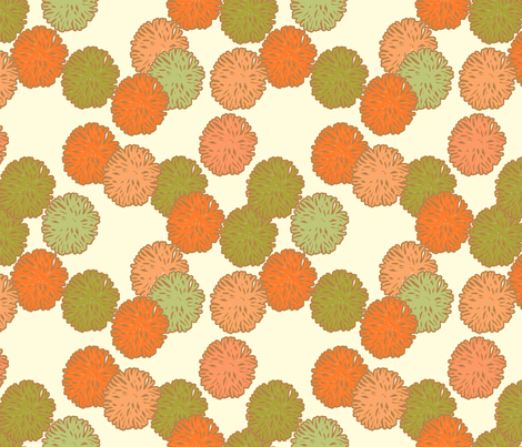 coral_harvest fabric by holli_zollinger on Spoonflower - custom fabric