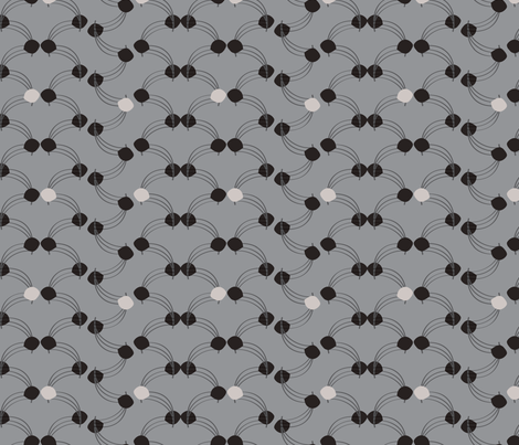 Port_grayscale fabric by pancakes_for_dinner on Spoonflower - custom fabric