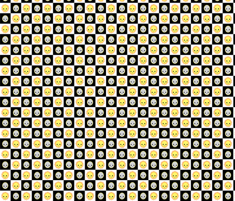 Night and Day fabric by kiwicuties on Spoonflower - custom fabric
