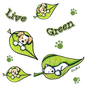 Live Green Puppies