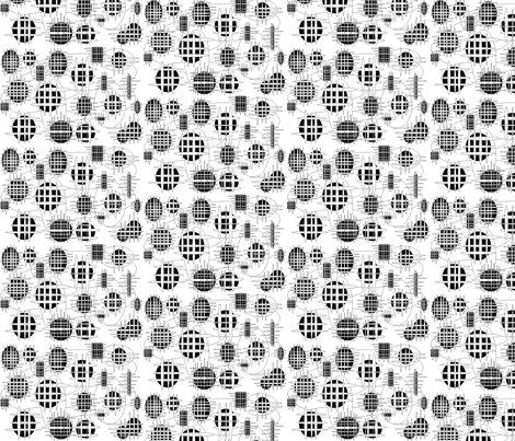 JamJax Fenced  fabric by jamjax on Spoonflower - custom fabric