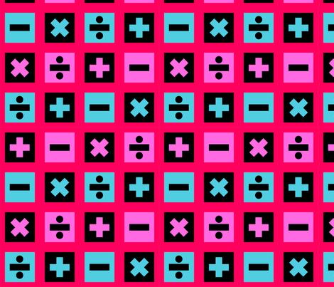 Math Pattern fabric by katetriss on Spoonflower - custom fabric