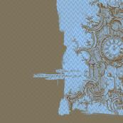 18th Century Clock 22x22
