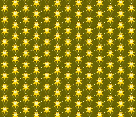 daffodil_pattern3 fabric by cindy_lindgren on Spoonflower - custom fabric