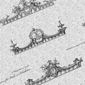 18th Century Cornices 24x12