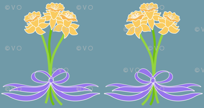 daffodil posies