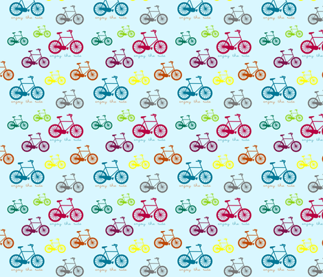 enjoy the ride fabric by amybethunephotography on Spoonflower - custom fabric