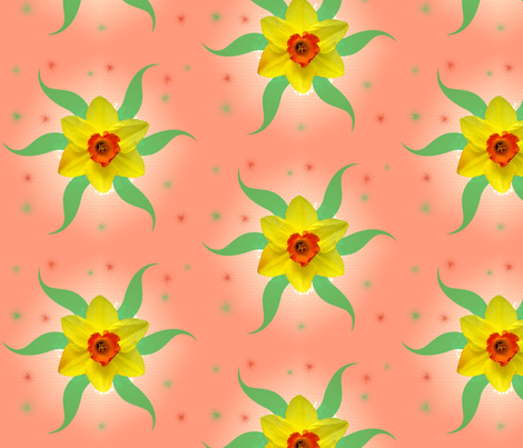 daffodil fabric by nicholeann on Spoonflower - custom fabric