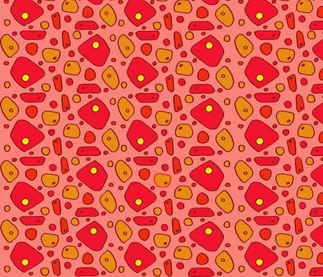 pimento cheese fabric by lissame73 on Spoonflower - custom fabric