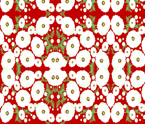 Poppy fabric by jamieldesigns on Spoonflower - custom fabric