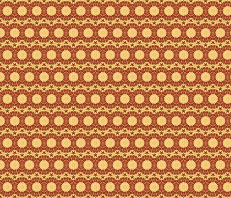 Star Rose Sunburst fabric by kdl on Spoonflower - custom fabric