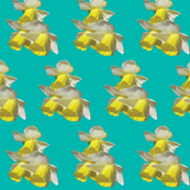 Daffodils-Teal