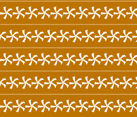 Jasmine orange stripe fabric by maeula on Spoonflower - custom fabric