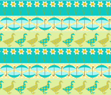 rainy day fabric by mytinystar on Spoonflower - custom fabric