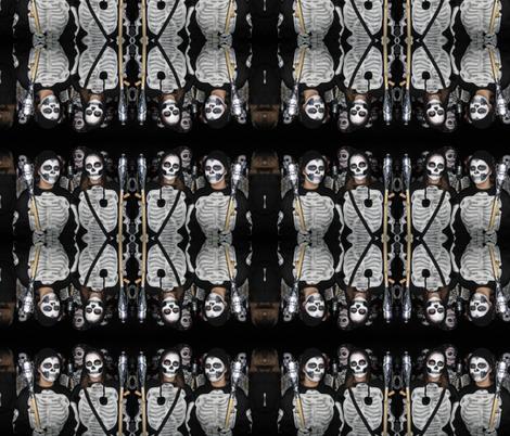 Rock & Skull fabric by paragonstudios on Spoonflower - custom fabric