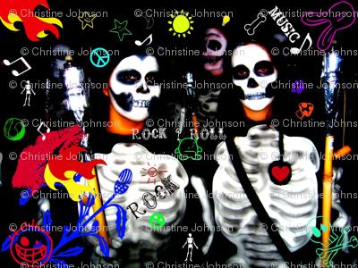 Rock & Skull