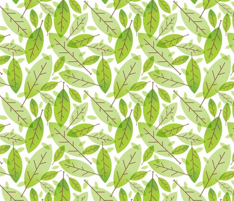 Greener fabric by vonster on Spoonflower - custom fabric