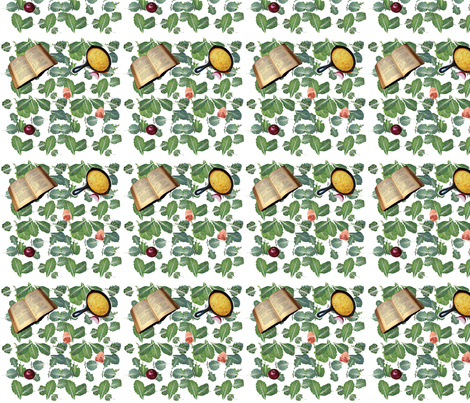 Collard Greens Recipe-167 fabric by kkitwana on Spoonflower - custom fabric