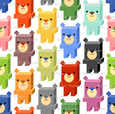 Square Bears (Day)