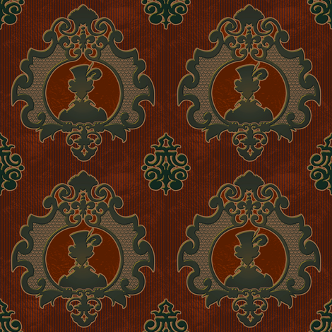 Steamed Cameo 6 fabric by jadegordon on Spoonflower - custom fabric