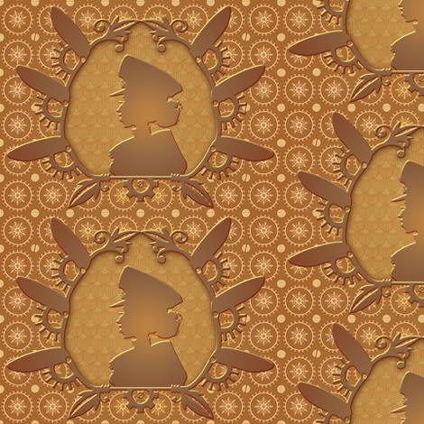 Steamed Cameo 7 fabric by jadegordon on Spoonflower - custom fabric