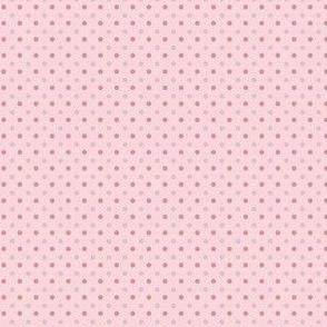 Pink Poodle Polka Dots