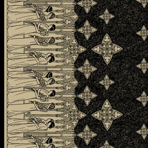 Maiden Border (antique + dark)