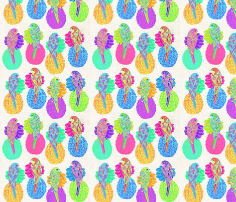 Pine Apple fabric by libby_walker on Spoonflower - custom fabric