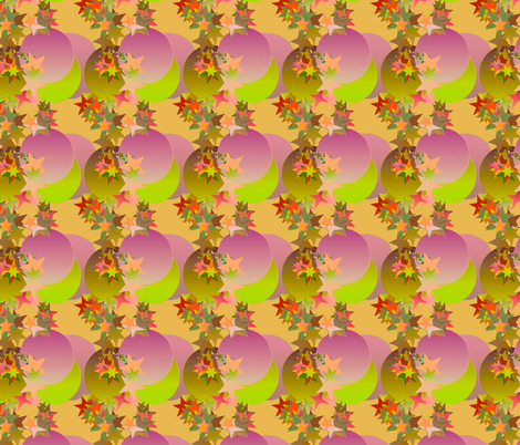 Moons_and_Stars fabric by patsijean on Spoonflower - custom fabric