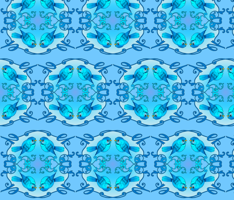 Tweet fabric by jadegordon on Spoonflower - custom fabric