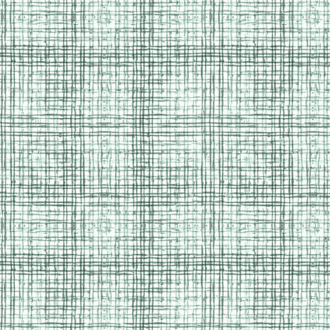 Ink Check - Green fabric by kristopherk on Spoonflower - custom fabric