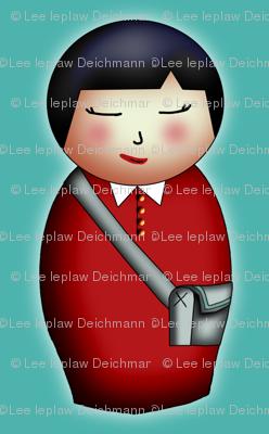 Student Kokeshi