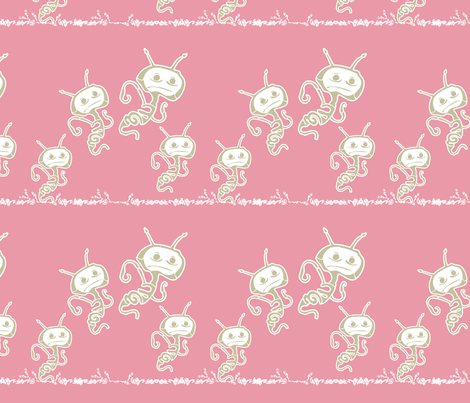 creature_jumping fabric by q_bot on Spoonflower - custom fabric