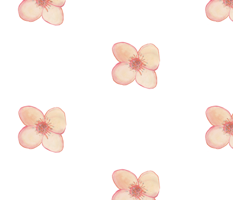 Flower for Spoonflower II fabric by captiveinflorida on Spoonflower - custom fabric