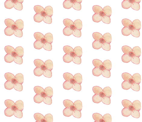 Flower for Spoonflower fabric by captiveinflorida on Spoonflower - custom fabric