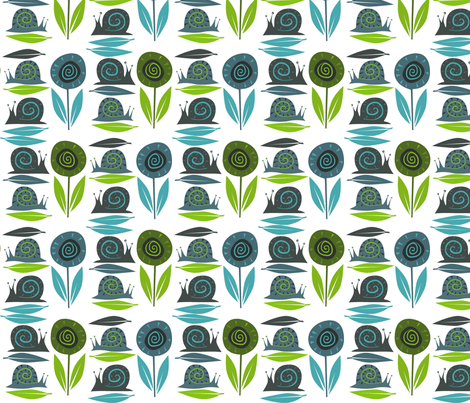 Garden_companions fabric by antoniamanda on Spoonflower - custom fabric