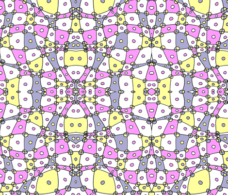 Pastel Abstract Checkers fabric by eiralav on Spoonflower - custom fabric