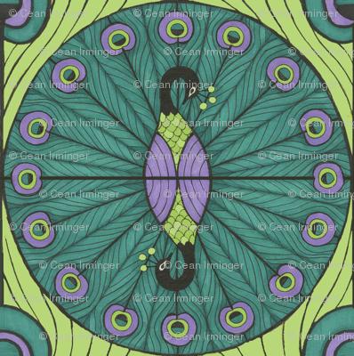 Peacock Dot