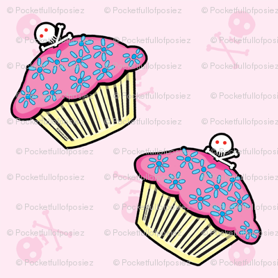 Pocket Full of Posiez Deadly Sweet Cupcakes