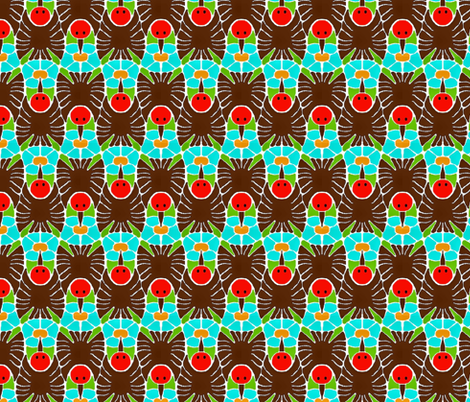 Hummingbirds fabric by kdl on Spoonflower - custom fabric
