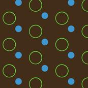Spotty Spots-- Green