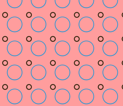 Spotty Spots-- Pink fabric by winter on Spoonflower - custom fabric