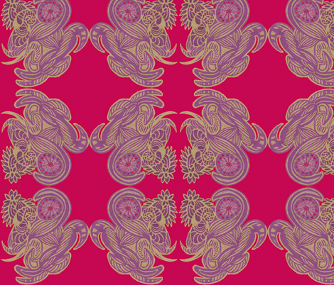 JamJax  Royal Patch fabric by jamjax on Spoonflower - custom fabric